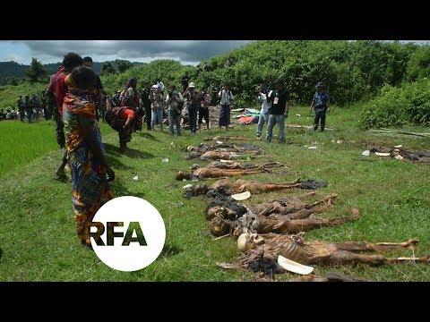Myanmar Finds Mass Graves in Rakhine State | Radio Free Asia (RFA)