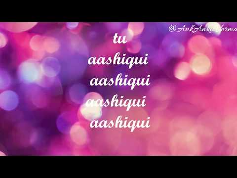 Tu Aashiqui-Title Song   Colors   New TV Serial   Lyrics Song
