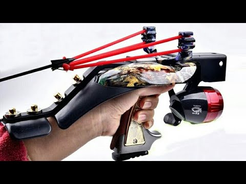 10 Крутых рогаток для охоты и рыбалки с Алиэкспресс + амуниция
