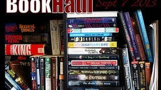 Book Haul / In My Mailbox - Sept 7, 2013 Thumbnail