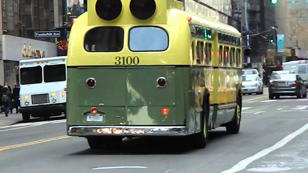 Mta New York City Bus Vintage Special 1956 Gm Quot Old Look
