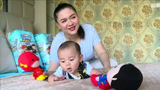 Ini Nih Cara Vicky Shu Agar Si Baby Nyaman Bergerak