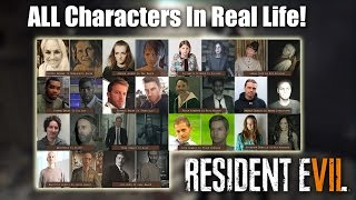 Resident Evil 7 | AWESOME RE7 Character Models In Real Life
