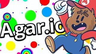 MODDED AGARIO MARIO AND LUIGI (1.000.000 MASS)! - AGAR.IO