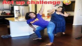 ACT UP CHALLENGE ON MY MOM PRANK ! | IAMJUSTAIRI