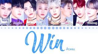 ATEEZ - 'WIN' (Color Coded Lyrics Eng/Rom/Han/가사) (에이티즈)