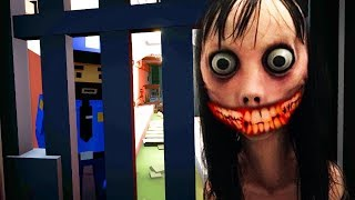 MOMO HAS CAPTURED ME.. WE HAVE TO ESCAPE!    MOMO 2 ENDING Creepypasta Horror Game