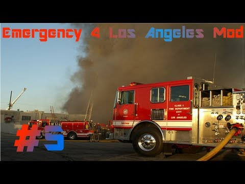 Emergency 4 Los Angeles Mod - Pożar Lasu! #5