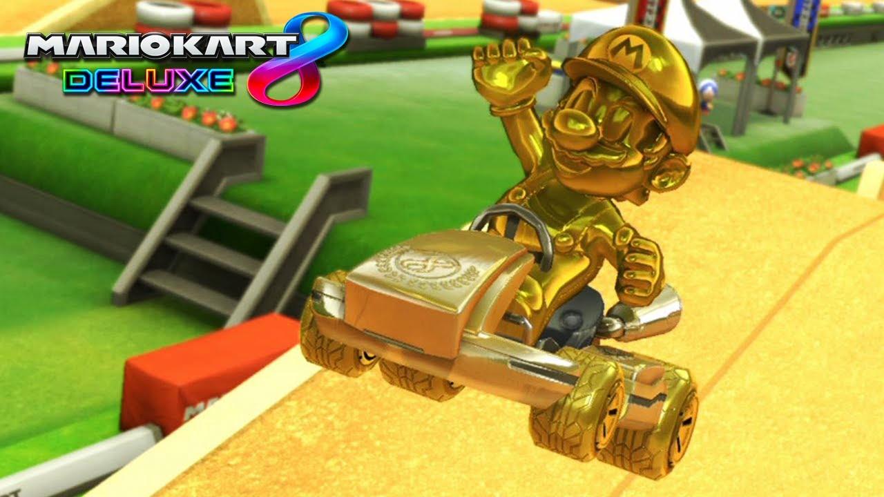 PROBANDO LA COMBINACIÓN DE ORO DE MARIO KART 8 DELUXE | Nintendo Switch