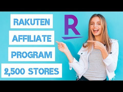 RAKUTEN AFFILIATE PROGRAM REVIEW + 2,500 STORES + UP TO 40% CASH BACK + GET $10 FREE PROMO! 🤑
