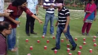 Team Building Activities - Blind Fold