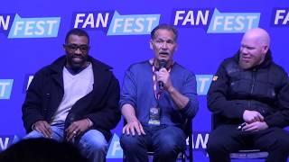 Black Lightning cast at Fan Fest Chicago - Apr 7, 2018