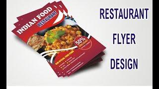 كيفية إنشاء مطعم الطيارة التصميم في برنامج Corel draw | تصميم 4 u