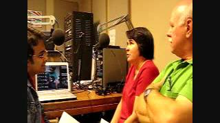 DJ Sadiq Rahman with  Richard & Marcia Jinkins in Nostalgic with Sadiq, KVRX 91.7 FM,Episode 10