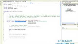 Het ontwikkelen van Autodesk Inventor Addins met behulp van C# - Deel 1a
