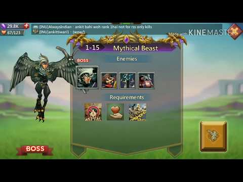 Lords Mobile : F2P Challenge Stage 1-15.