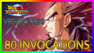 Dokkan Battle | 80 INVOCATIONS VEGETA SSJ4