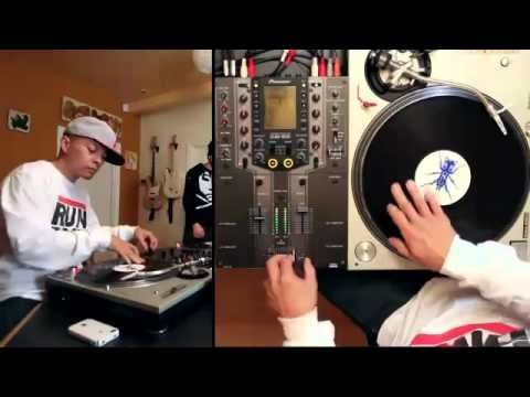 Dj Qbert vs DJ Shiftee vs Rafiq on Traktor Scratch Pro 2