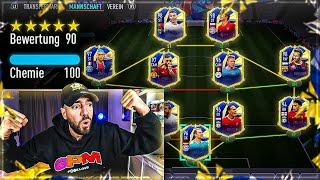190 RATED?! FIFA 21: MEIN BESTES TEAM OF THE YEAR FUT DRAFT 🔥🔥