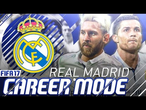 FIFA 17 Real Madrid Career Mode - Signing Messi - S1E01