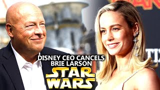 Disney CEO Just Cancelled Brie Larson! (Star Wars Explained)