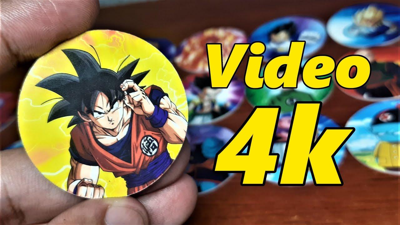 Tazos Dragon Ball Super en 4k | Primeros 30 Clásicos