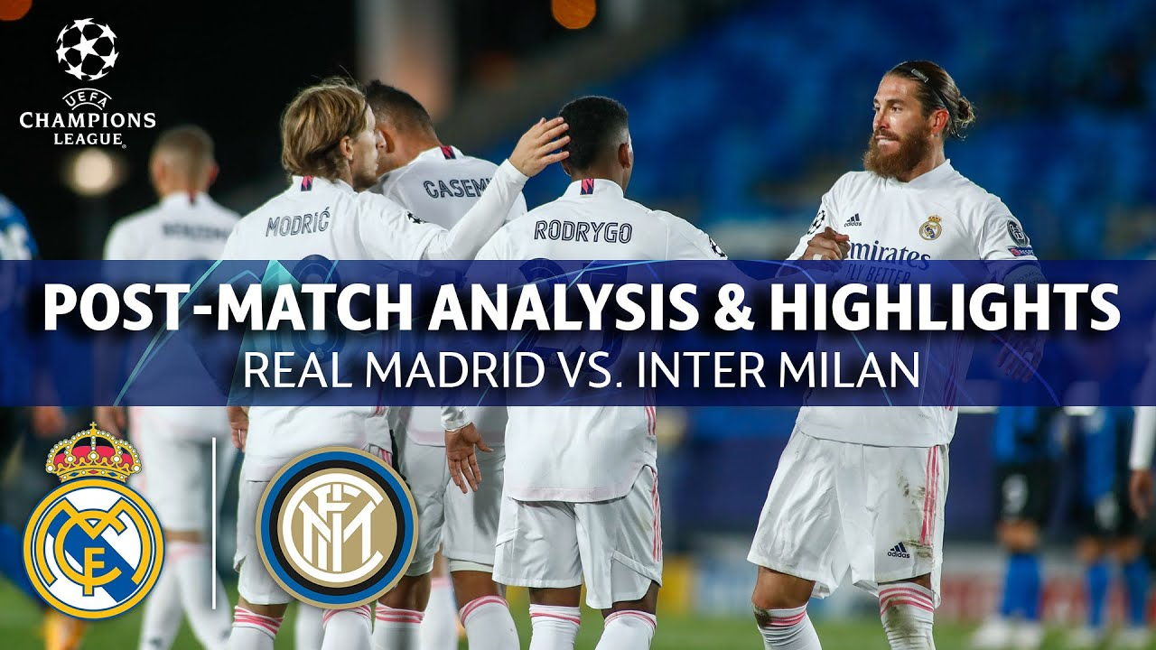 real madrid vs inter milan post match analysis highlights ucl on cbs sports youtube youtube