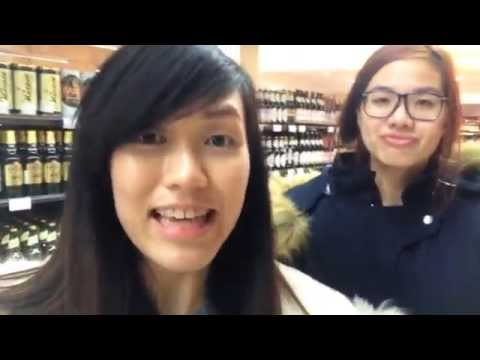 My Student Life In Almaty - Supermarket Shopping