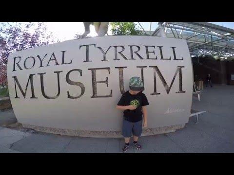 Royal Tyrrell Museum - Drumheller Alberta Canada - Dinosaur Museum - 2015 Alberta Road trip