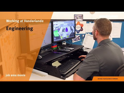Engineering | Job area movie | Vanderlande