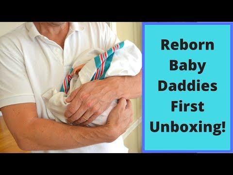 Reborn Baby Daddies Unbox their first REBORN BABY!