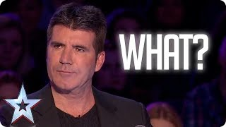 Simon Cowell Can't Understand A SINGLE WORD | Britain's Got Talent