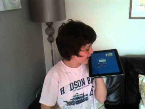 My 10 year old Son talking backwards fluently