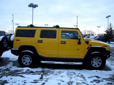The Yellow Hummer H2... - YouTube