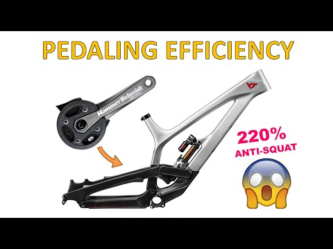 Pedaling efficiency and anti-squat (MTB suspension Ep.21)