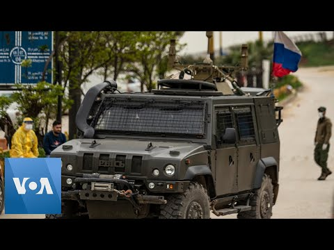 Coronavirus Testing: Russian Military Patrol Syria's Kurdish Area