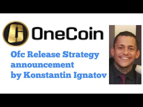 OFC Release Strategy announcement by Konstantin Ignatov