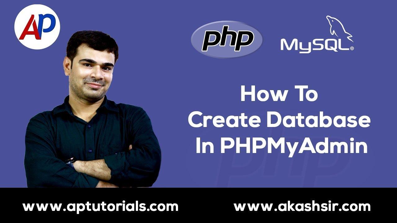 Phpmyadmin2016 - Mysql How To Create Database Table Import Export Database Phpmyadmin 2016 11