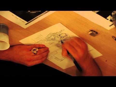 Dan Panosian dessine pour Ouest-France - Le Lombard BD