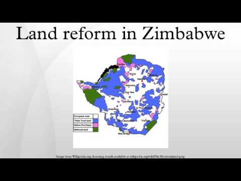 Land reform in Zimbabwe