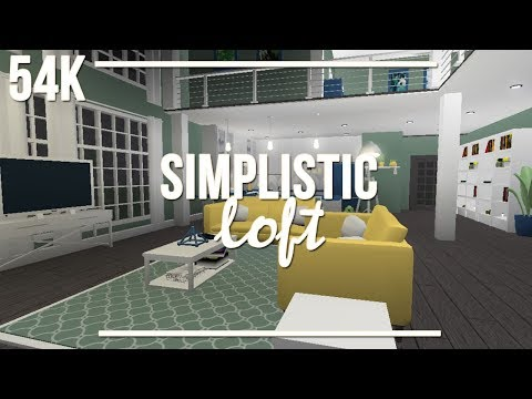 ROBLOX | Welcome to Bloxburg: Simplistic Loft 54k