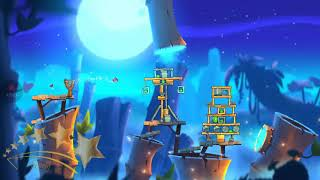 ANGRY BIRDS 2 - Bamboo Forest : Greasy Swamp - Level 125