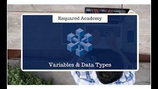 Einführung in R - Lernen zum erstellen der Variablen in R (Teil 5)