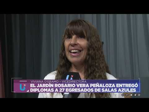 EL JARDÍN ROSARIO VERA PEÑALOZA ENTREGÓ DIPLOMAS A 27 EGRESADOS DE SALAS AZULES - D´ERAMO