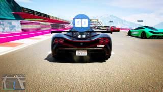 Очень крутые гонки с рампами в gta 5 online