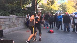 Union square street fighter