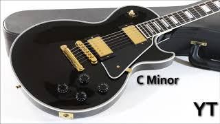 Rock Backing Track C Minor