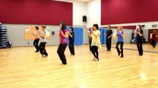 ct shuffle line dance dance teach in english 中文
