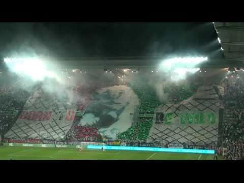 Legia Warszawa - Arka   Sen o Warszawie oraz super oprawa meczowa