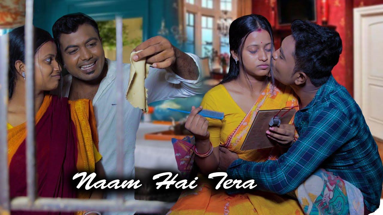 Naam Hai Tera | husband wife romantic cut love story video | heart Touching Latest love story 2021